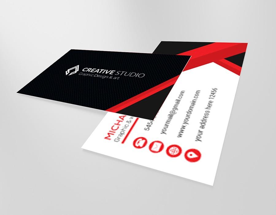 Pantone color business cards