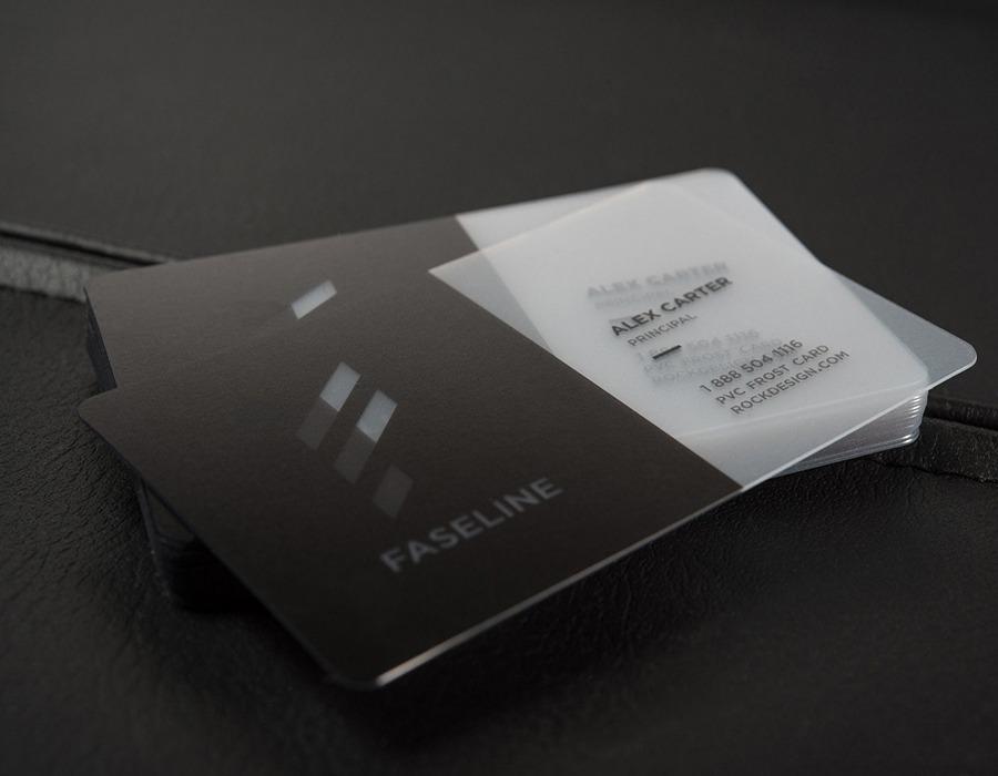 PVC PLASTIC BUSINESS CARDS