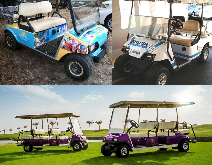 Golf-Cart-Branding-Dubai
