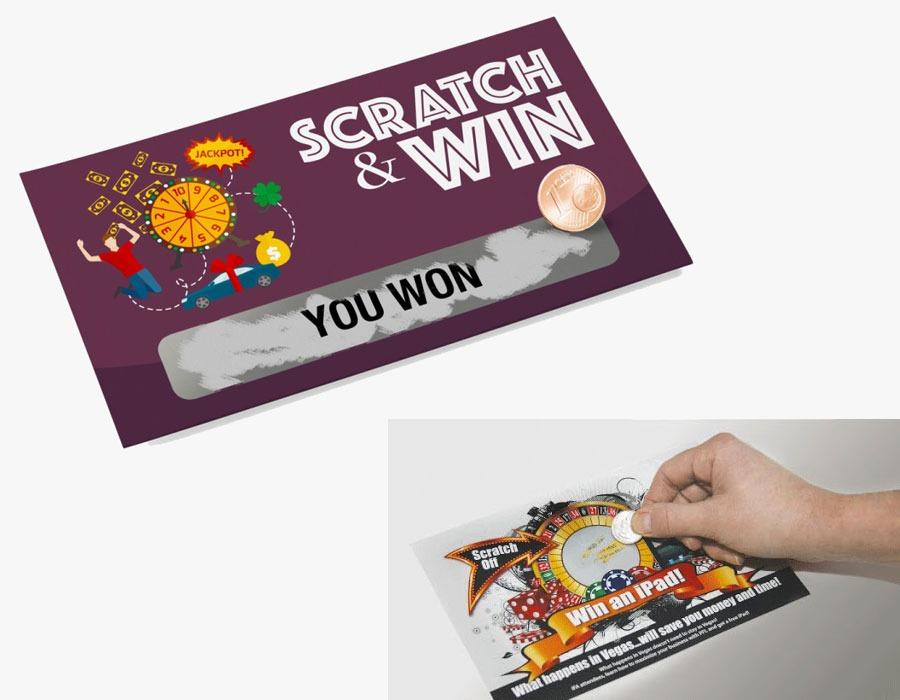SCRATCH-&-WIN-CARDS- coupons printing-dubai